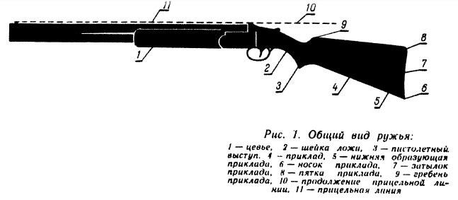 Схема ружья
